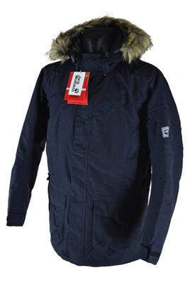 Длинная зимняя куртка Jack Wolfskin