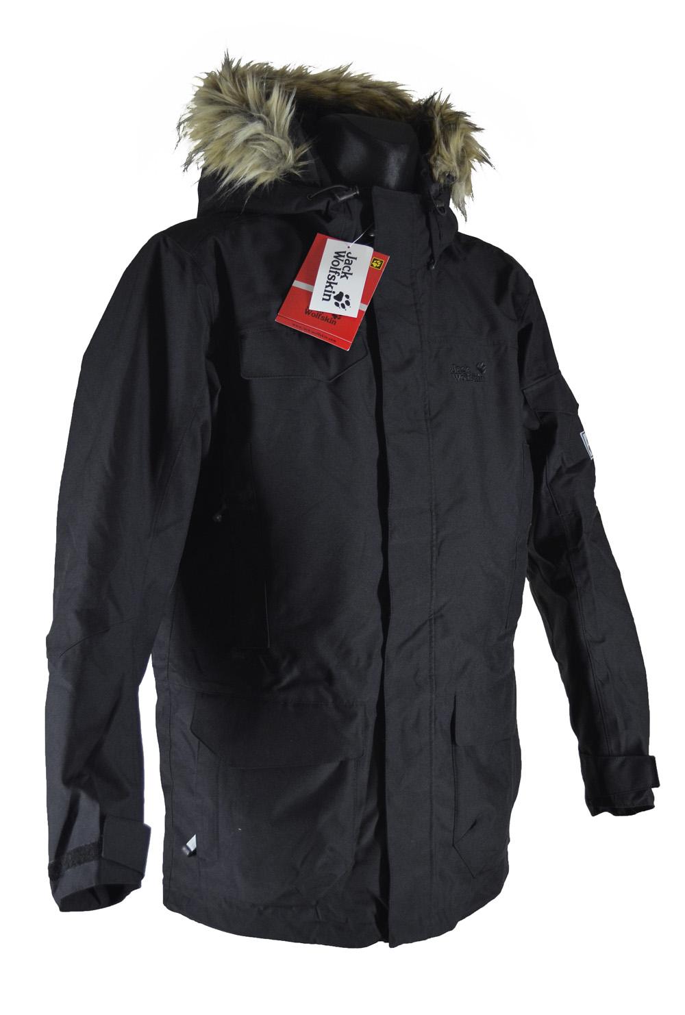 Купить зимнюю куртку Jack Wolfskin. Мужская длинная куртка