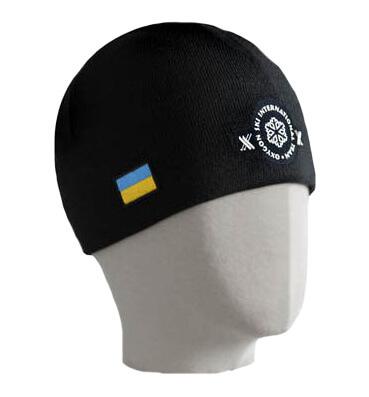 Мужская шапка Oxygon с флагом украины