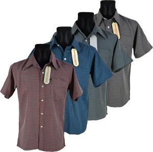мужские рубашки в клетку
