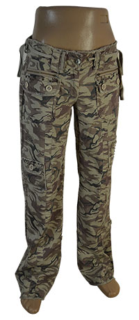 штаны женские военные